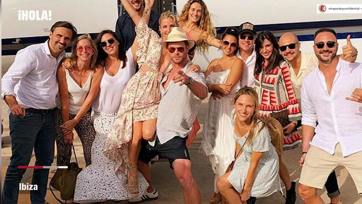 Lo que todavía no habíamos visto del fiestón de cumpleaños de Elsa Pataky en Ibiza