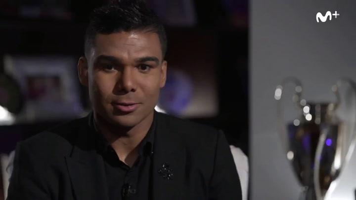"""Casemiro: """"Zidane me dijo que cuando empieces a jugar no vas a dejar de jugar nunca más"""""""