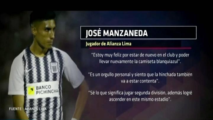 Alianza Lima: José Manzaneda retorna y ecuatoriano Achilier será prestado
