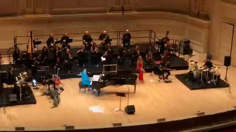 Fito Páez brindó un emotivo concierto en el legendario Carnegie Hall de Nueva York