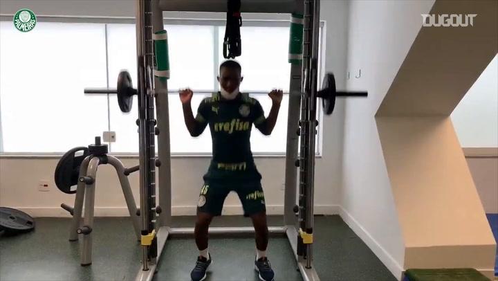 Patrick de Paula volta a treinar e vira opção para o Palmeiras na Copa do Brasil