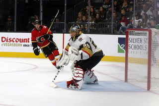 Golden Edge: Golden Knights Shut out Calgary