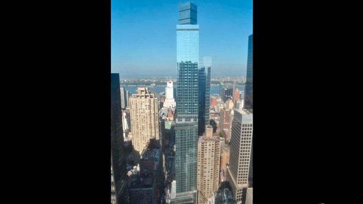 Se 68 etasjer bygges på et minutt
