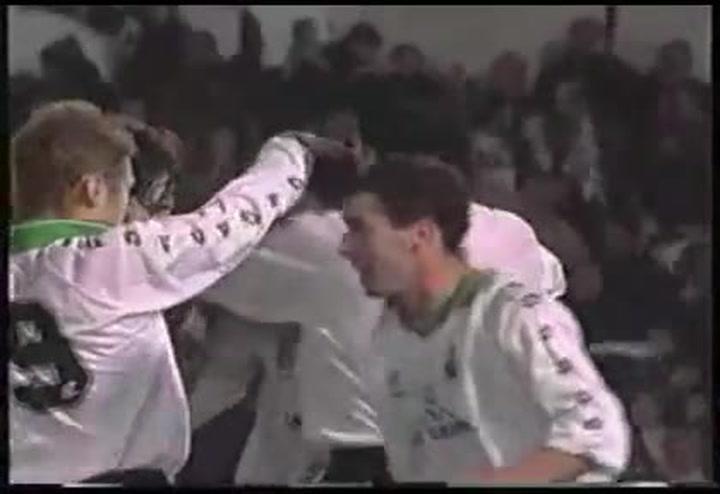 Racing Santander 5 - Barcelona 0 (temporada 1994-1995)