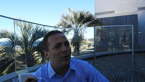 Cristian Castro le rinde tributo a Sandro en Punta del Este