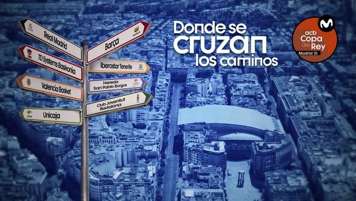 El espectacular spot de la 'Copa ACB, donde se cruzan los caminos'
