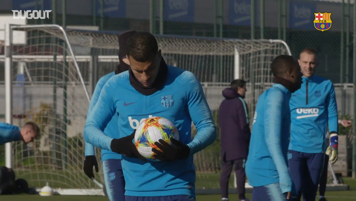 Barça's Sevilla Preparations