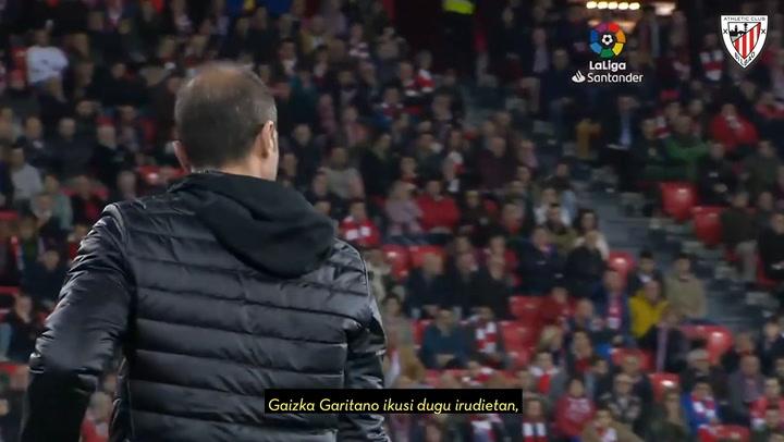 Oficial: Garitano ha renovado por una temporada más en el Athletic