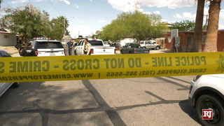 Shooting near Harmon Avenue and Mountain Vista Street
