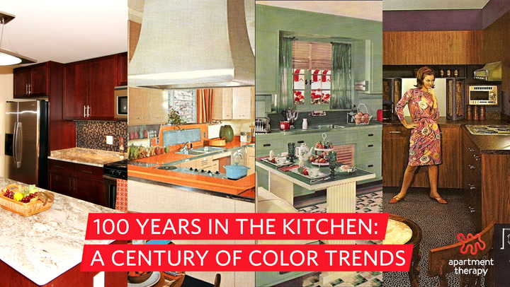 The Most Por Colors For Kitchens From 1920s To Today Apartment Therapy