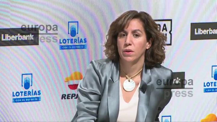"""Irene Lozano: """"Casillas le ha hecho mucho bien a la selección"""""""