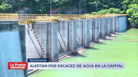Alertan por escasez de agua en Tegucigalpa