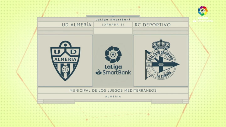 LaLiga SmartBank (J31): Resumen y goles del Almería 4-0 Deportivo