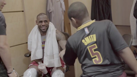 LeBron: East Finals, Post-Game 2 - Part 2