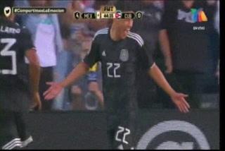 ¡GOL DE MÉXICO! Uriel Antuna hace el 4-0 ante Cuba en la Copa Oro