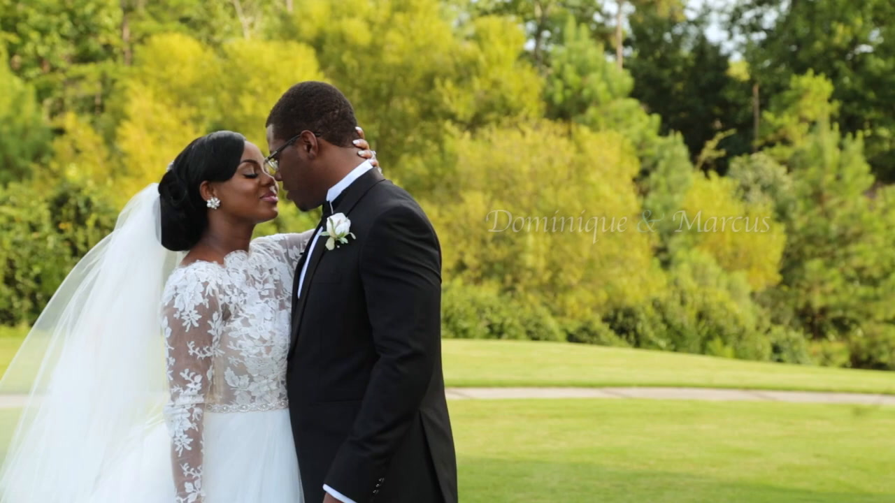 Marcus + Dominique | Charlotte, North Carolina | Pallisades Country Club