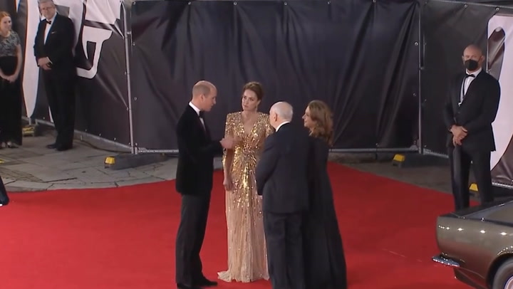Kate Middleton wows on the red carpet at James Bond world premiere