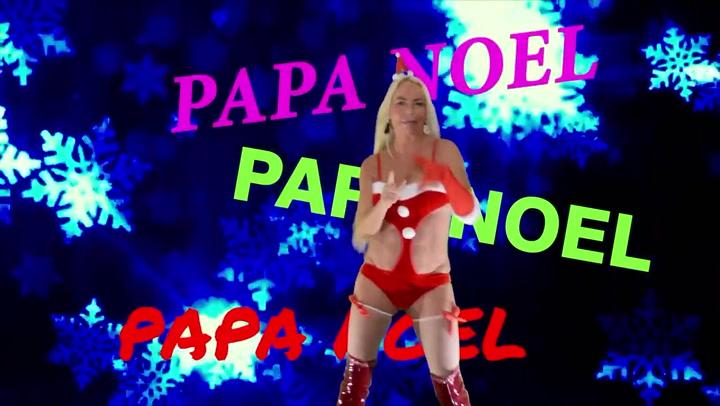 'Papa Noel, you're the only one', el provocador videoclip de Leticia Sabater