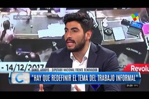 Facundo Moyano dijo que molesta el cinismo del gobierno