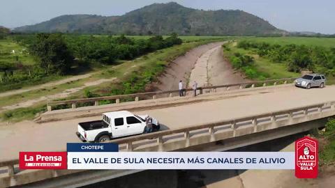 El Valle de Sula necesita más canales de alivio