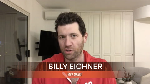 Billy Eichner, winner of the MVP AWARD
