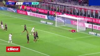 El Milan remonta ante Hellas Verona y se alza al liderato de Serie A