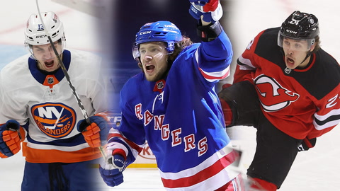 What are the odds the Islanders, Rangers or Devils win the East division?