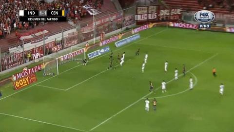 Central se trajo un punto valioso tras ser dominado por Independiente