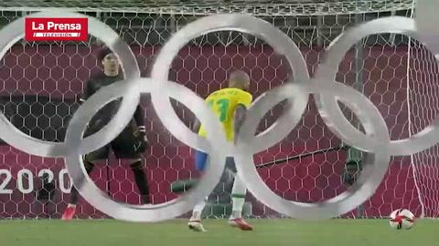 México 0 (1) - (4) 0 Brasil (Tokio 2020)