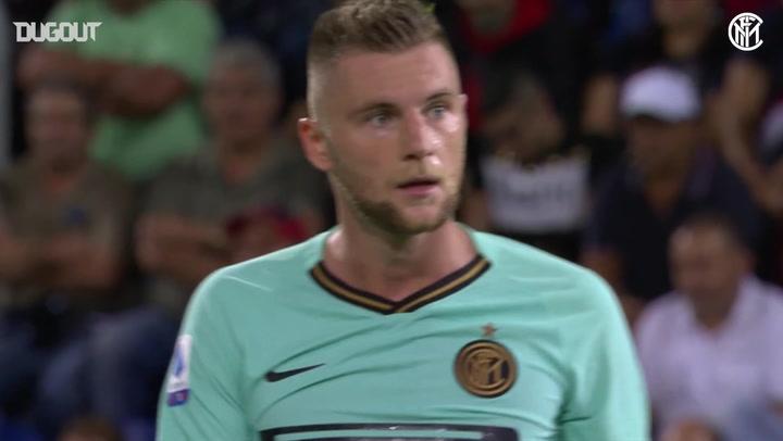 The best of Milan Škriniar at Inter