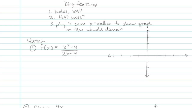 Graphing a Rational Expression - Problem 6