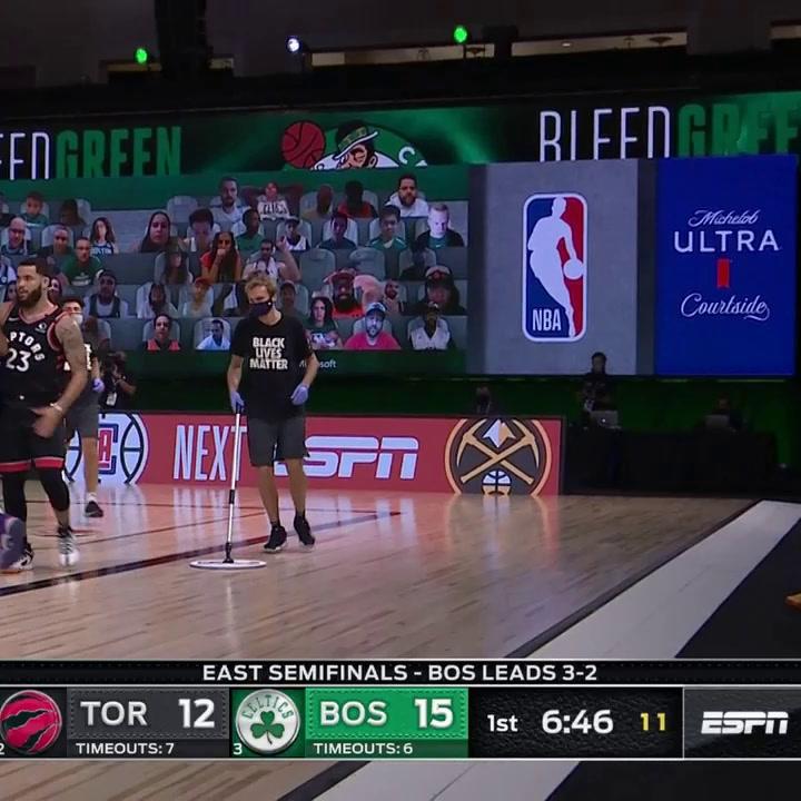 La actuación de Ibaka y Marc Gasol, ante los Celtics de Boston