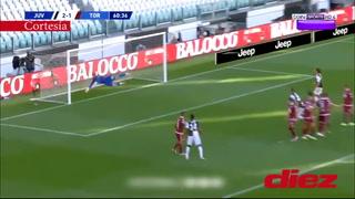 ¡Al puro estilo CR7! El golazo de Cristiano Ronaldo de tiro libre ante el Torino en la liga italiana