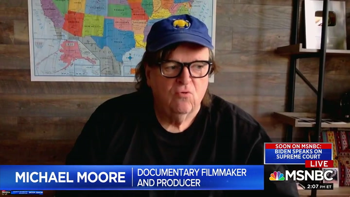 Michael Moore Calls on Americans to Get 'Out in the Streets' Over SCOTUS Pick: We Must Be 'Ruthless'