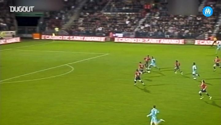 Olympique de Marseille's top five goals vs Lille