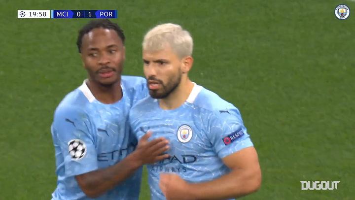 Manchester City'nin 2020-21 Sezonu Şampiyonlar Ligi Golleri