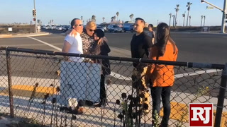 Parents of teens who were killed in California crash visited the crash site – VIDEO