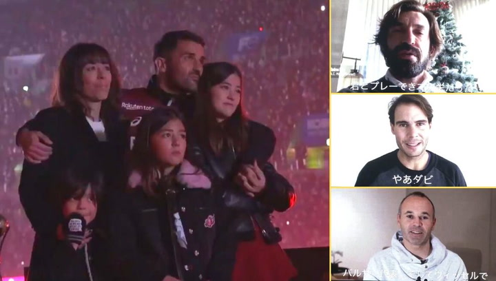 Emotivo video homenaje del Vissel Kobe a David Villa en su despedida del fútbol