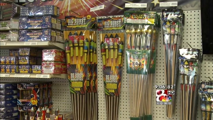 Firework Stores Doing Well Despite Safety Warnings