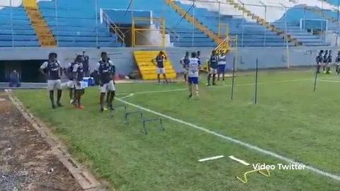 Sub-23 de Honduras comenzó tercer microciclo previo al Preolímpico