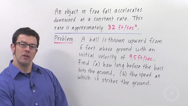 Position, Velocity and Acceleration - Problem 3