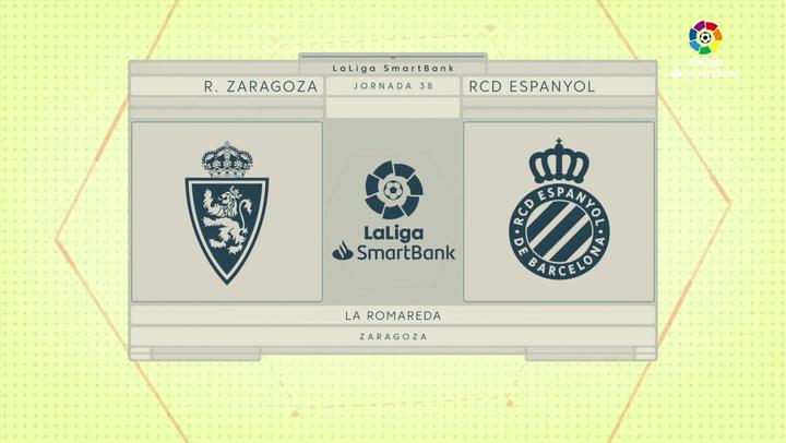 LaLiga SmartBank (J38): Resumen del Zaragoza 0-0 Espanyol