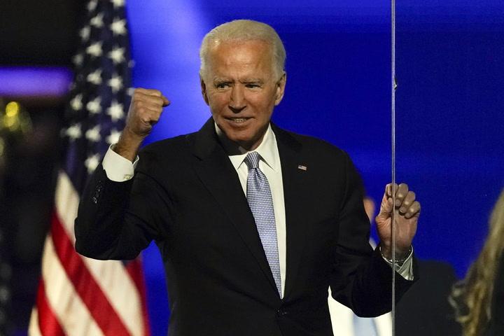 El discurso de Joe Biden en 59 segundos en RTVE