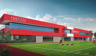 Inside Look at UNLV Fertitta Football Complex – Video