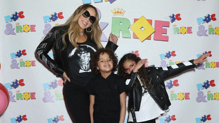 Mariah Carey hace realidad el sueño de sus mellizos Roc y Roe