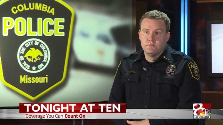 KOMU 8 News: Interview with Columbia's Interim Police Chief Jones