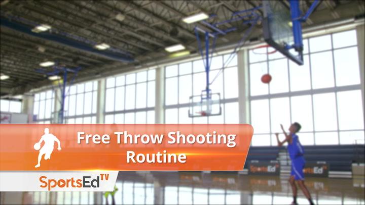 Free Throw Shooting Routine