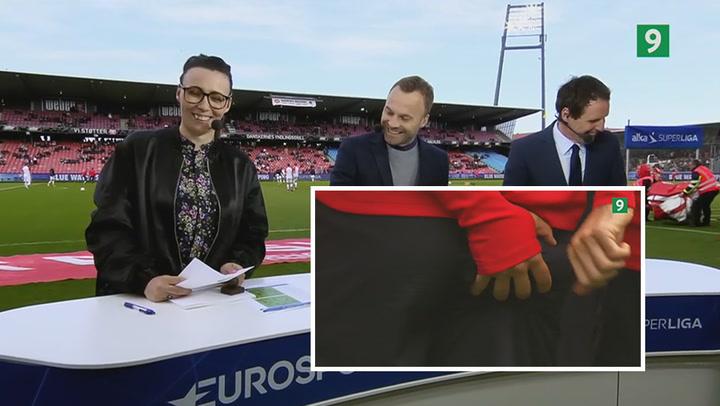 Når live-TV går galt: Sæsonens sjoveste Superliga-bloopers!