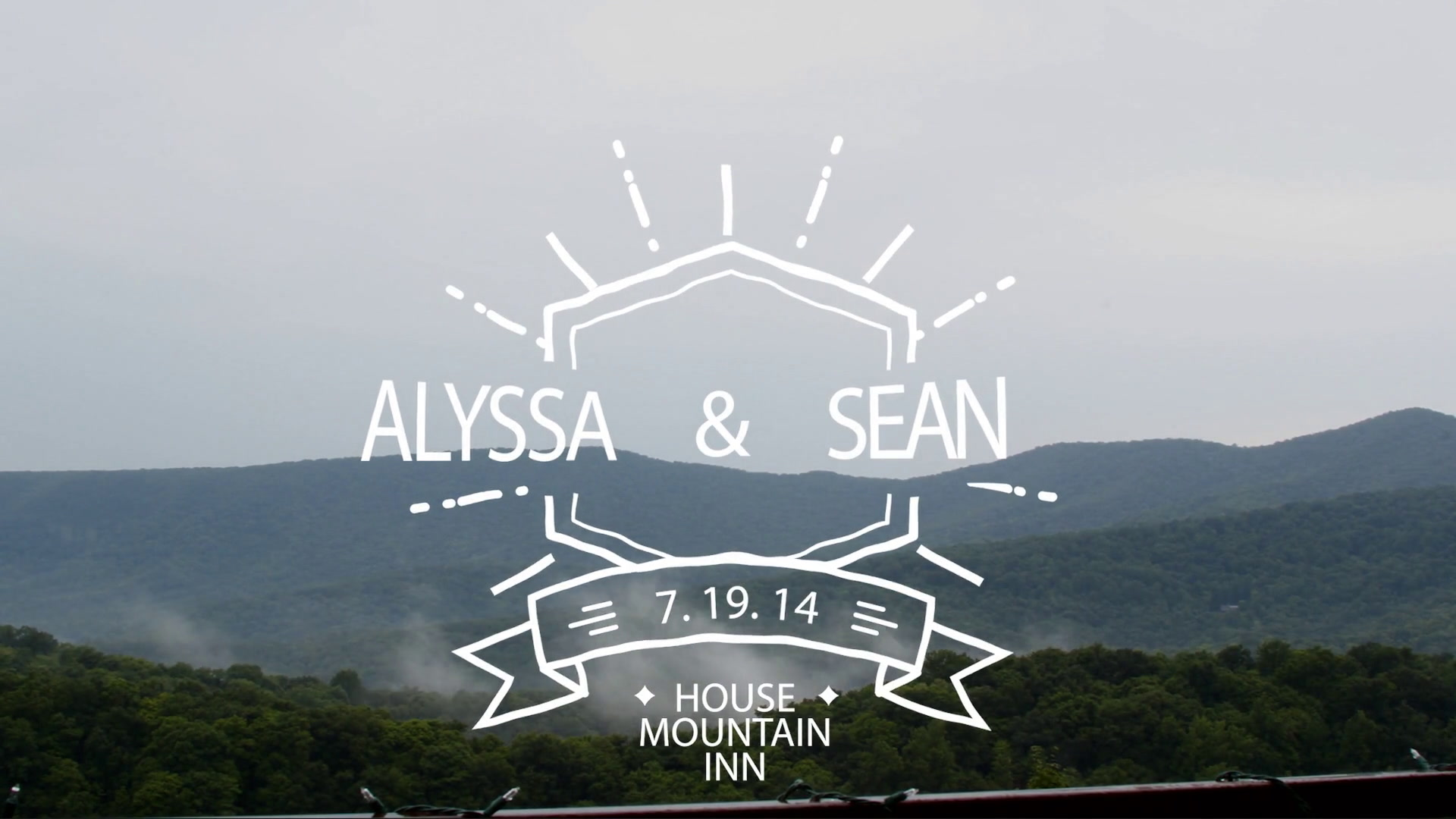 Alyssa + Sean | Lexington, Virginia | House Mountain Inn