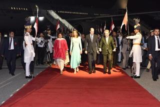 برطانوی شہزادہ ولیم اور شہزادی کیٹ مڈلٹن اسلام آباد پہنچ گئے